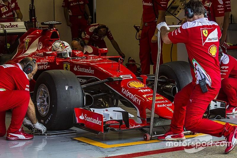 Sebastian Vettel: Testauto simuliert Abtrieb 2017 nicht wirklich genau