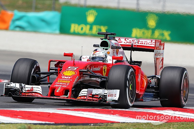 "Vettel: ""Warme condities doen ons goed"""