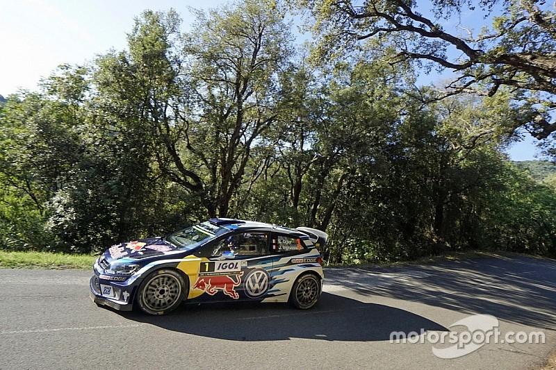 WRC Frankreich: Durchmarsch von Ogier auf Etappe 1 auf Korsika
