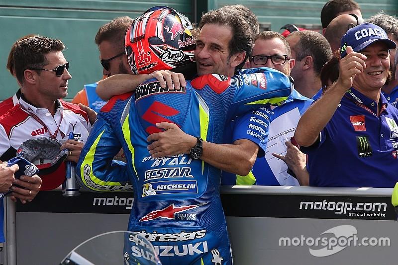 """Brivio: """"La victoria es el punto de partida para Suzuki"""""""