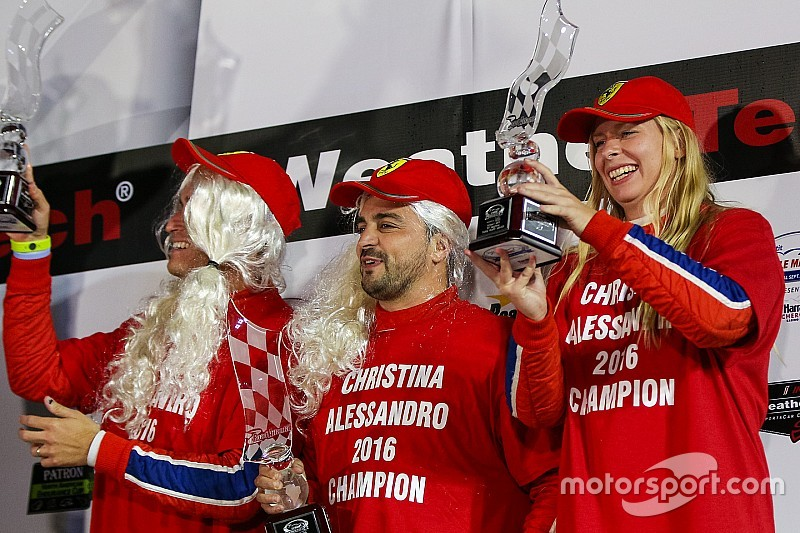 Impresa di Christina Nielsen: vince il titolo GTD insieme a Balzan