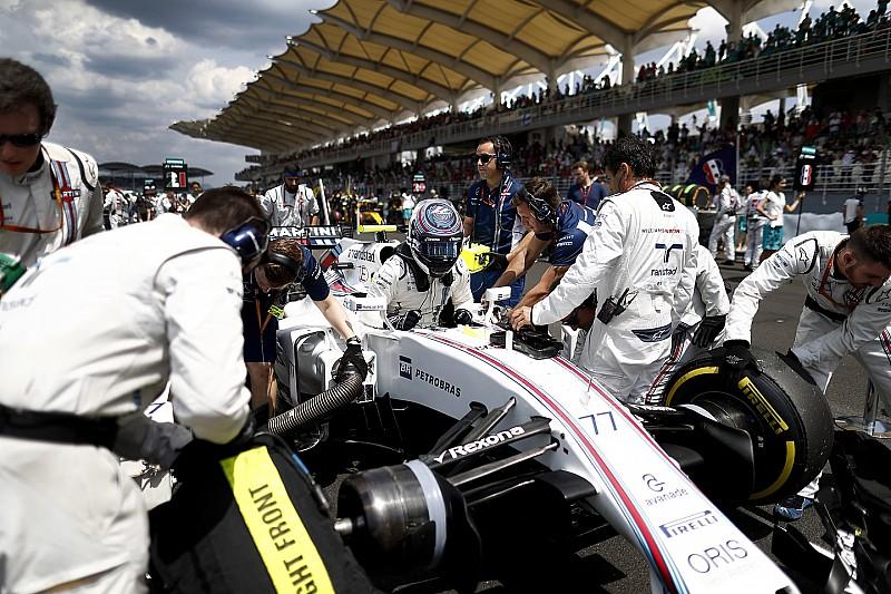 Williams probará nuevos arneses en Suzuka