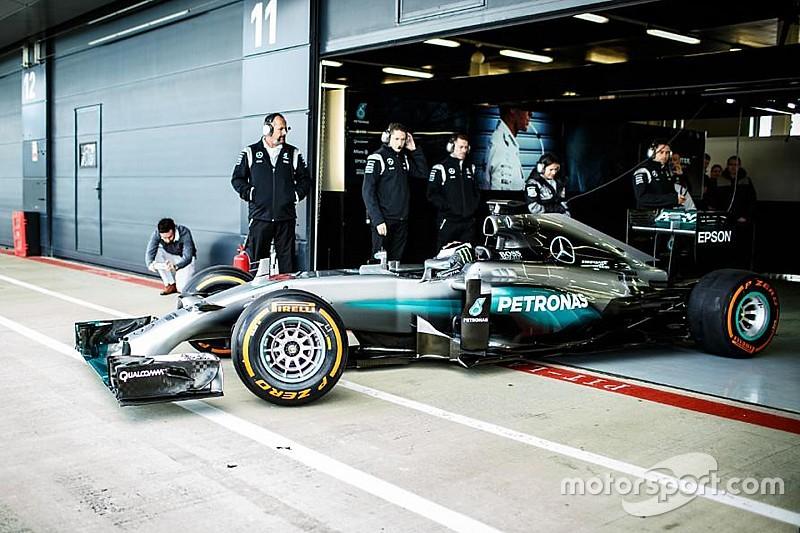 Droom komt uit voor Lorenzo met Mercedes Formule 1-test