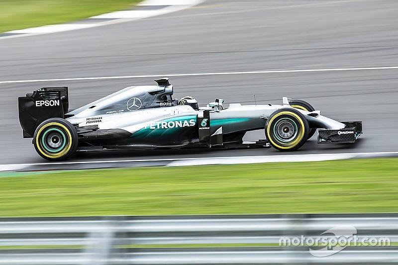 """لورينزو سجّل بعض الأزمنة """"التنافسيّة"""" خلال اختبار سيارة مرسيدس للفورمولا واحد"""