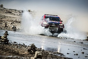 Cross-Country Rally Yarış raporu Al-Attiyah baskın bir performans ile Fas Rallisini kazandı, Sainz ikinci sırada