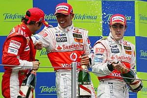 Fórmula 1 Galería Los 100 podios de Hamilton en Fórmula 1 en imágenes