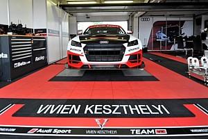 Gyorsasági OB BRÉKING Utoljára látható Magyarországon Keszthelyi Vivien az Audi TT Cup versenyautóval