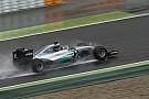 Rosberg test met brede banden voor 2017 in Barcelona