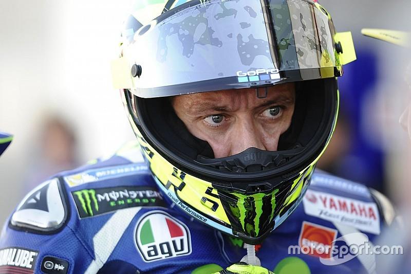 Rossi keluhkan tiga balapan beruntun MotoGP
