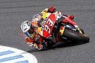 予選2位のマルケス「ペドロサとロレンソのクラッシュを見たから、大事に行った」:MotoGP日本GP