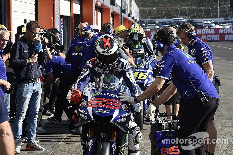 MotoGP-Teams testen in Australien neues Informationssystem auf dem Display