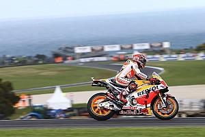 MotoGP Отчет о квалификации Маркес завоевал поул в Австралии, Росси – 15-й