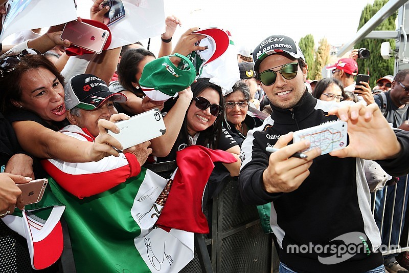 Force India ya aterrizó en la Ciudad de México