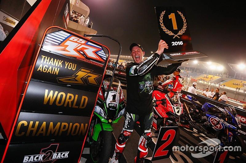 Rea, bicampeón del mundo y quinta victoria consecutiva para Davies