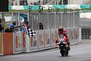 MotoGP Reporte de la carrera Dovizioso, noveno ganador de la temporada en MotoGP