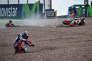 MotoGP Análisis Las mil y una caídas del Mundial de MotoGP