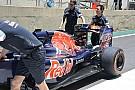 Técnica: alerón trasero del Toro Rosso STR11 en Brasil