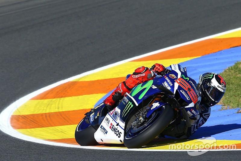 MotoGP Valencia: Lorenzo ungguli Rossi di FP1, KTM posisi ke-22