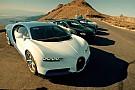 La Bugatti Chiron se teste dans le désert du Nevada