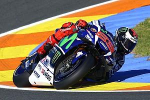MotoGP Trainingsbericht MotoGP Valencia: Lorenzo behauptet Spitze vor Marquez und Vinales