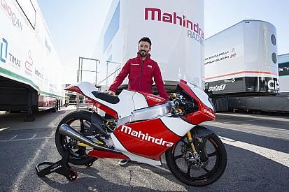 Max Biaggi teammanager voor Mahindra in Italiaanse Moto3
