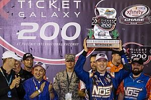 NASCAR XFINITY Reporte de la carrera Gana Busch en Phoenix;  Suárez es finalista del Chase