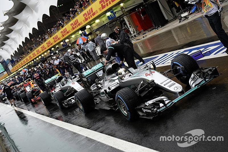 """Mercedes: """"Aanpassing set-up tijdens code rood sleutel tot 1-2"""""""