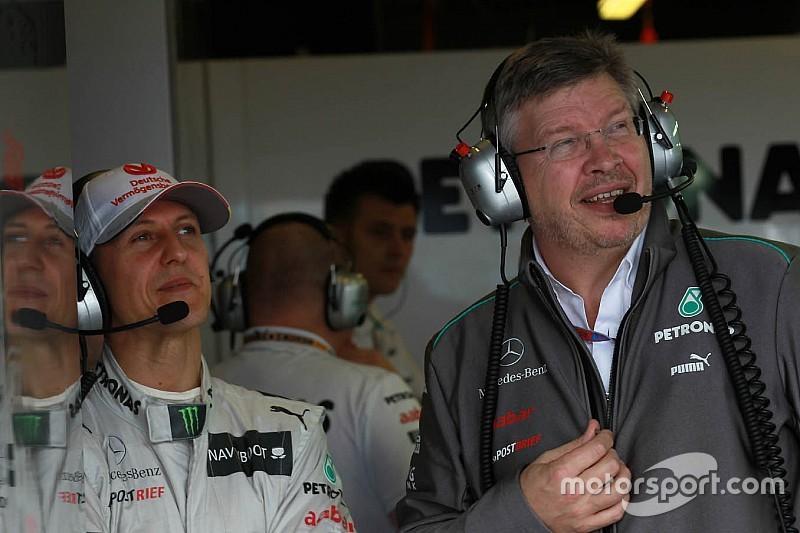 Brawn desmente declaração sobre estado de Schumacher