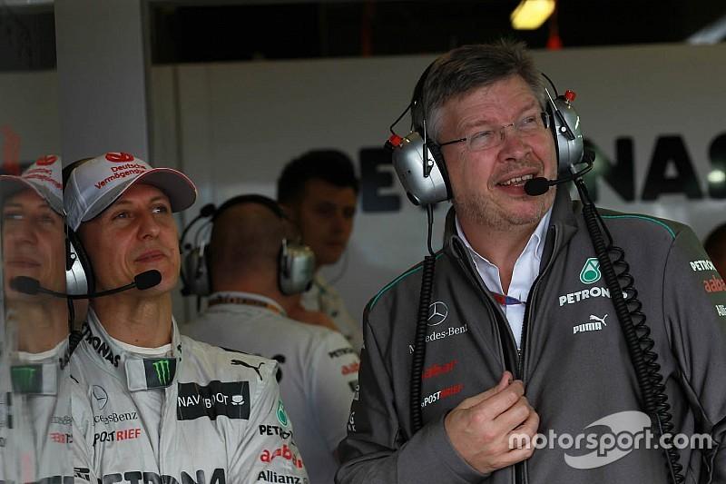 Brawn geeft opheldering over uitlatingen herstel Schumacher