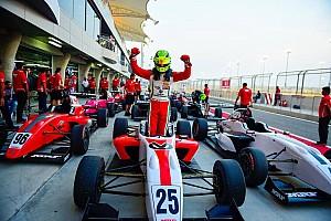 Indian Open Wheel Jelentés a versenyről Michael Schumacher fia duplázott: újabb győzelem Bahreinben