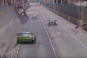 GT Nieuws Vanthoor wint Macau GP ondersteboven: