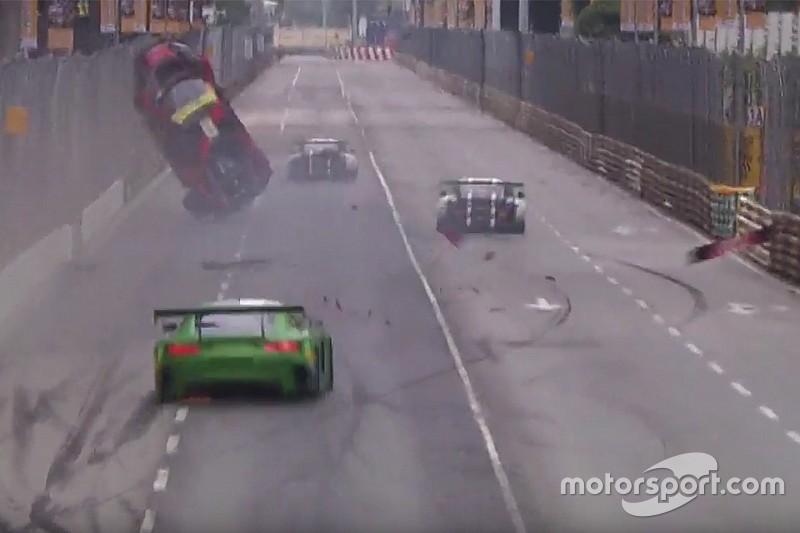 """Vanthoor wint Macau GP ondersteboven: """"Een angstaanjagend moment"""""""
