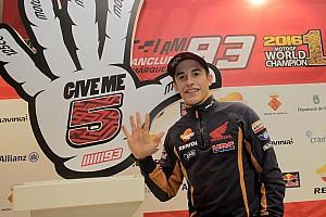 "MotoGP 采访 对话MotoGP""三冠王""马克‧马奎兹"