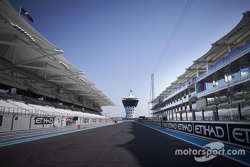 Horarios GP de Abu Dhabi