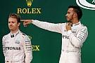 Hamilton lo tiene más fácil que Rosberg, según Horner