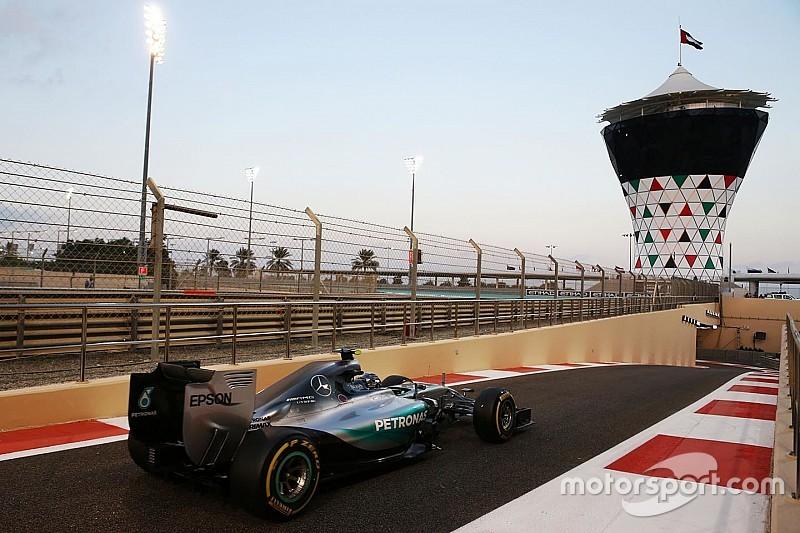 Гран Прі Абу-Дабі: гібрид працює тільки половину кола