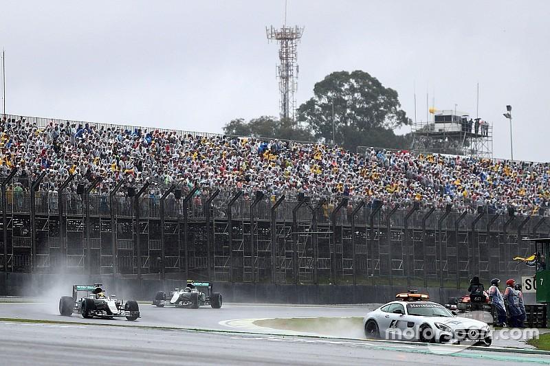 Brasil, la interrogante para el calendario 2017 de F1, dice Ecclestone