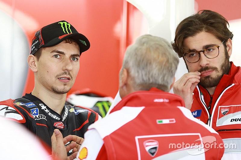 """Lorenzo sait qu'il ne sera """"pas facile d'être plus rapide que Dovizioso"""""""