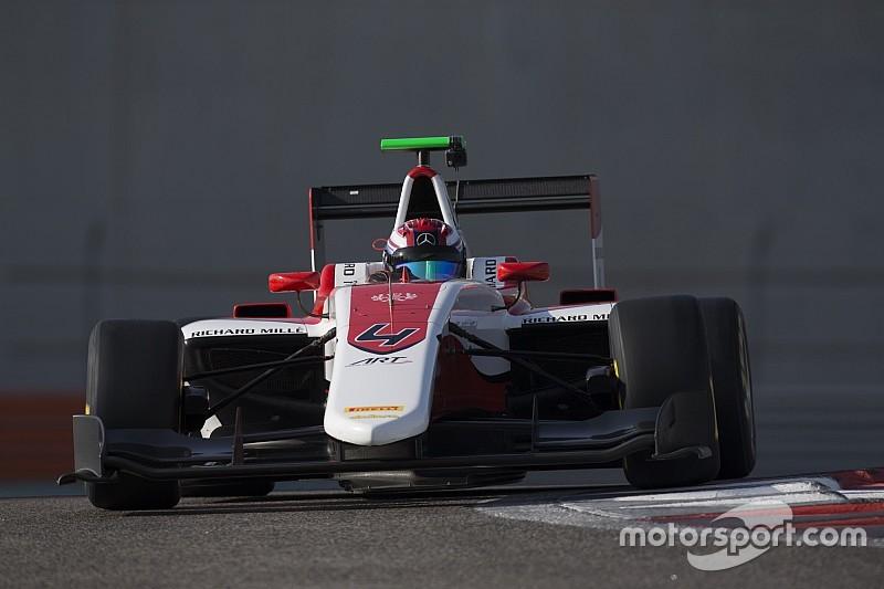 Russell domina el último día de test de GP3 en Abu Dhabi