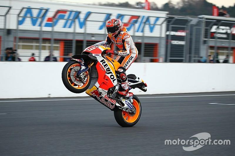 Márquez, elegido motociclista del año en los premios Autosport 2016