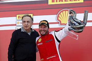 Ferrari Gara Carlos Kaufmann è il campione del mondo del Trofeo Pirelli