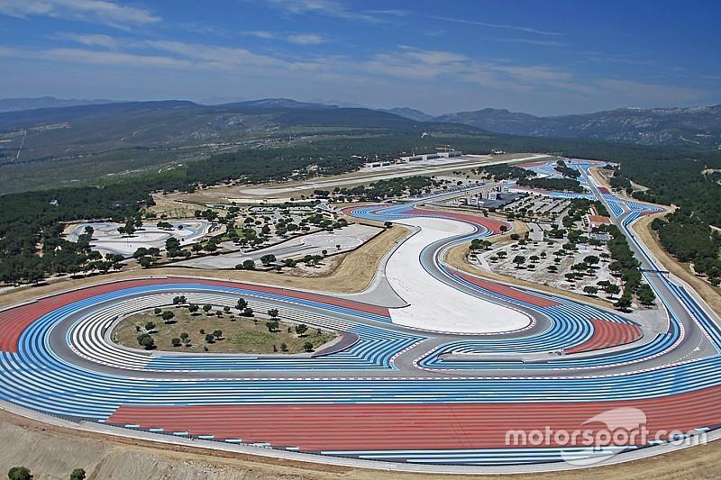 Paul Ricard recibirá al GP de Francia de F1 en 2018