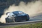 Alex Wurz testet Rallycross-Auto