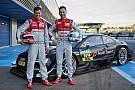 Audi перевела Дюваля и Раста в DTM