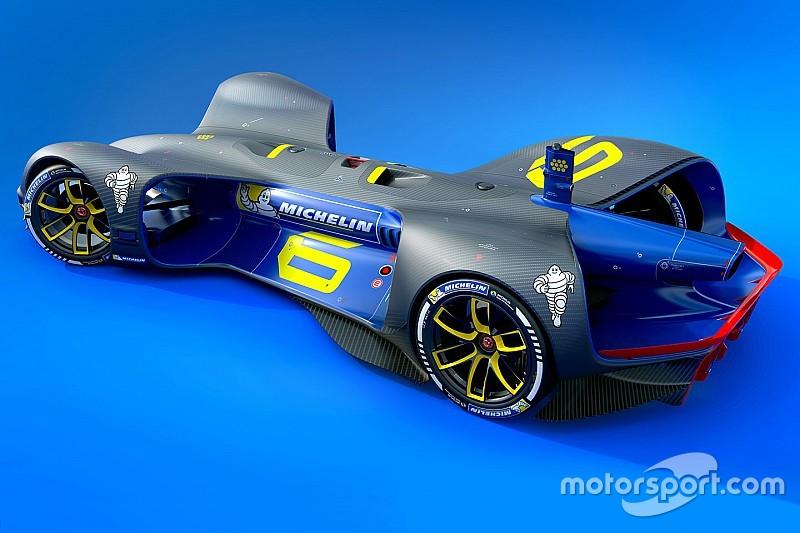 Roborace anuncia a Michelin como proveedor de neumáticos