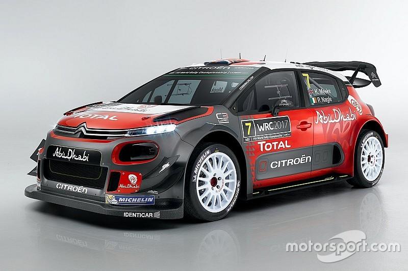 Команда Citroen представила новий C3 WRC 2017