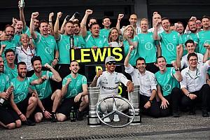 Formel 1 News Wolff bekräftigt Mercedes-Credo 2017: Teaminteressen gehen vor Fahrerinteressen