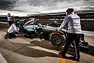 مرسيدس ستمنح الفرصة لروسي وأوجييه لاختبار سيارة الفورمولا واحد