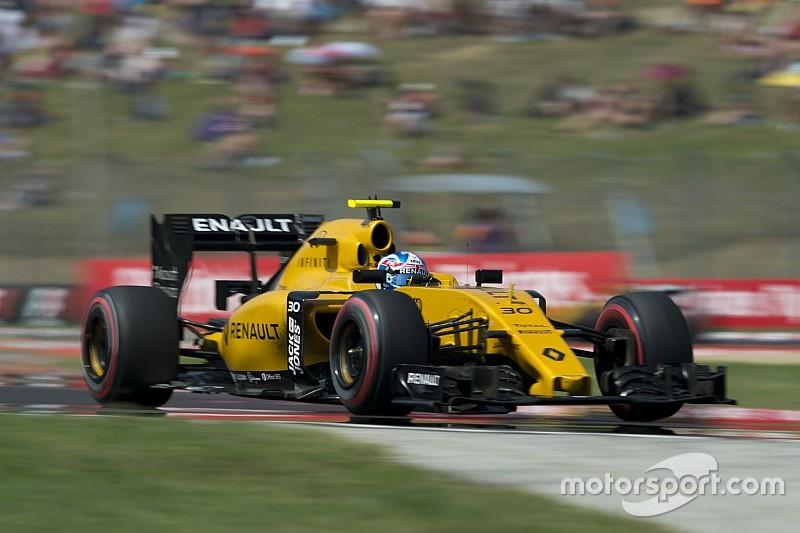 """Jolyon Palmer: Renault wird 2017 """"hoffentlich den größten Fortschritt"""" machen"""