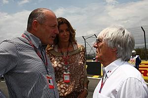 Fórmula 1 Noticias Ecclestone lamenta la marcha de Ron Dennis